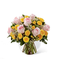 The FTD Soft Serenade Rose Bouquet from Monrovia Floral in Monrovia, CA