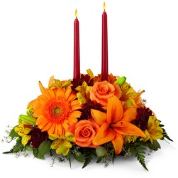 The FTD Bright Autumn Centerpiece from Monrovia Floral in Monrovia, CA