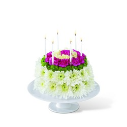 The FTD Wonderful Wishes Floral Cake from Monrovia Floral in Monrovia, CA