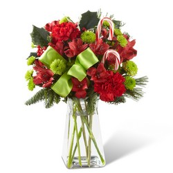 The FTD Candy Cane Lane Bouquet from Monrovia Floral in Monrovia, CA