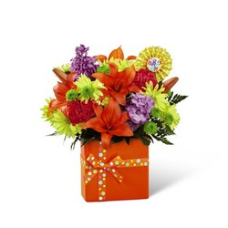 The FTD Set to Celebrate Birthday Bouquet from Monrovia Floral in Monrovia, CA