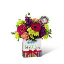 The FTD Birthday Brights Bouquet from Monrovia Floral in Monrovia, CA