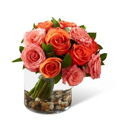 The FTD Blazing Beauty Rose Bouquet from Monrovia Floral in Monrovia, CA