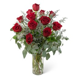Elegance and Grace Dozen Roses from Monrovia Floral in Monrovia, CA