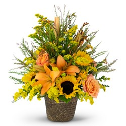 Fall Harvest Basket from Monrovia Floral in Monrovia, CA