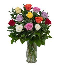 Dozen Roses - Mix it up! from Monrovia Floral in Monrovia, CA
