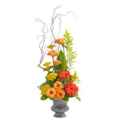 Heaven's Sunset Small  Urn from Monrovia Floral in Monrovia, CA