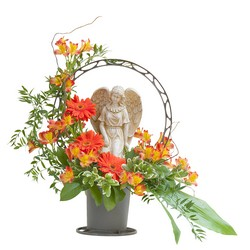 Heaven's Sunset Angel Basket from Monrovia Floral in Monrovia, CA