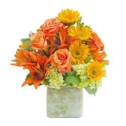 Textured Sunset Vase from Monrovia Floral in Monrovia, CA