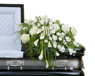 Elegant Love Casket Spray from Monrovia Floral in Monrovia, CA
