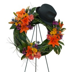 The Good Times Wreath from Monrovia Floral in Monrovia, CA