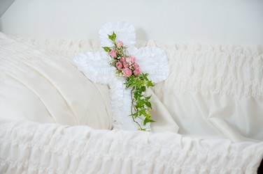 Cross Pillow from Monrovia Floral in Monrovia, CA