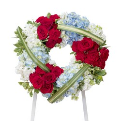 Honor Wreath from Monrovia Floral in Monrovia, CA