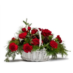 Classic Holiday Basket from Monrovia Floral in Monrovia, CA